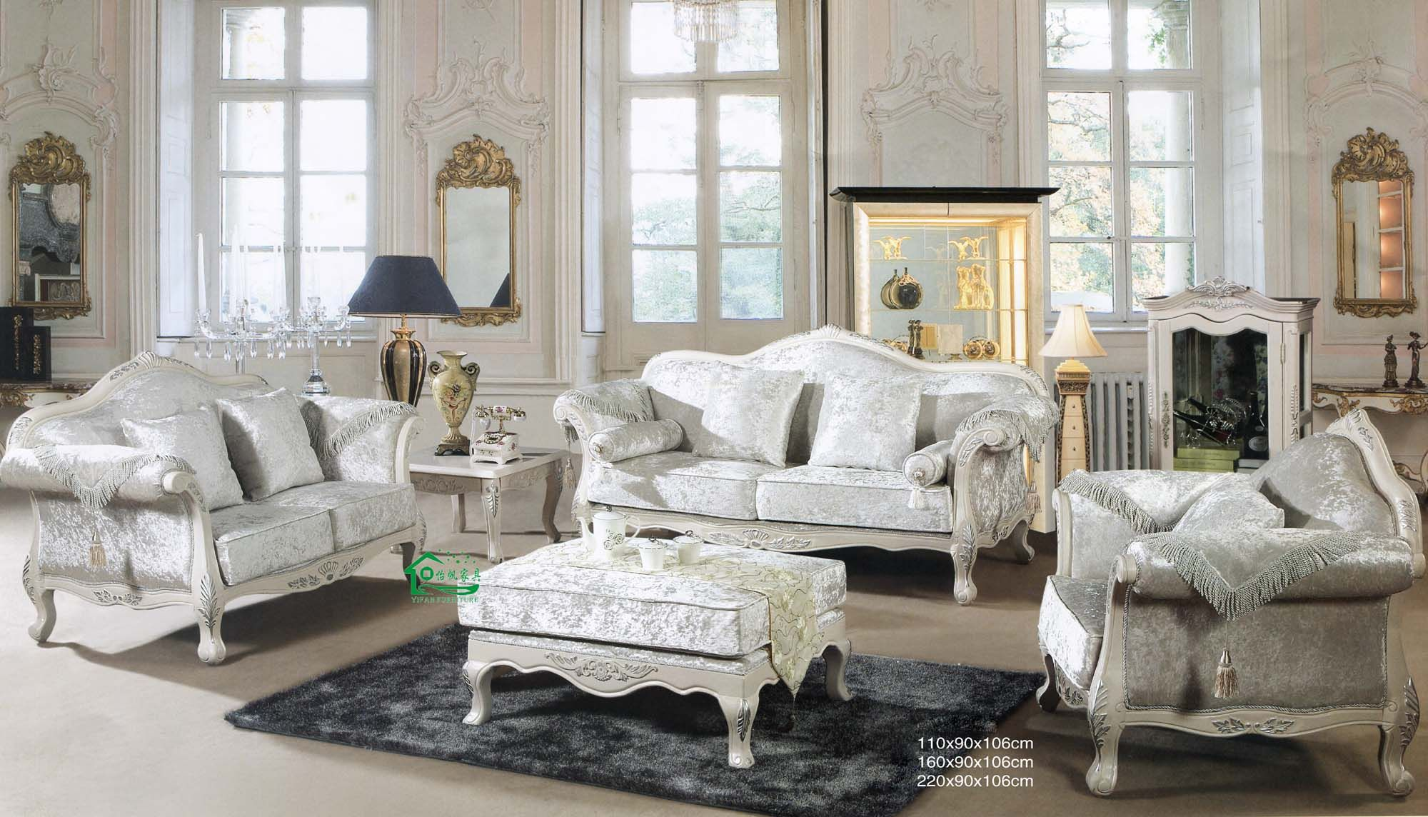 Customized Classic Furniture  In Dubai Across Uae Call 0566 00 9626 Egyptian_classic Furniture_furniture_affordable  Furniture Rochester Accent Sofa Nyc Mid  ...