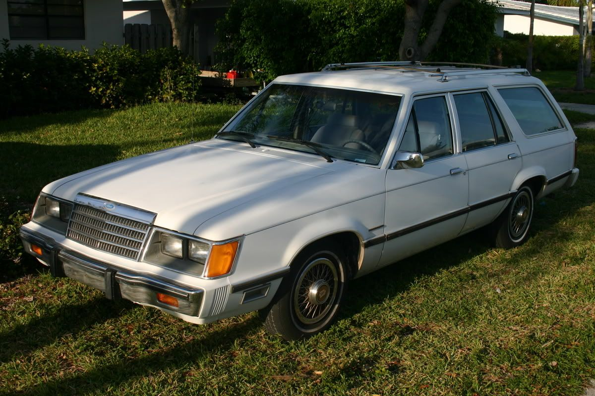 1984 ford ltd wagon with v six engine bought in 1987