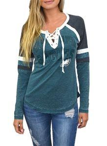 women's philadelphia eagles shirt
