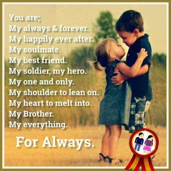 We Both Are Together Always Brother Sister Love Quotes Brother Sister Quotes Funny Brother Sister Quotes