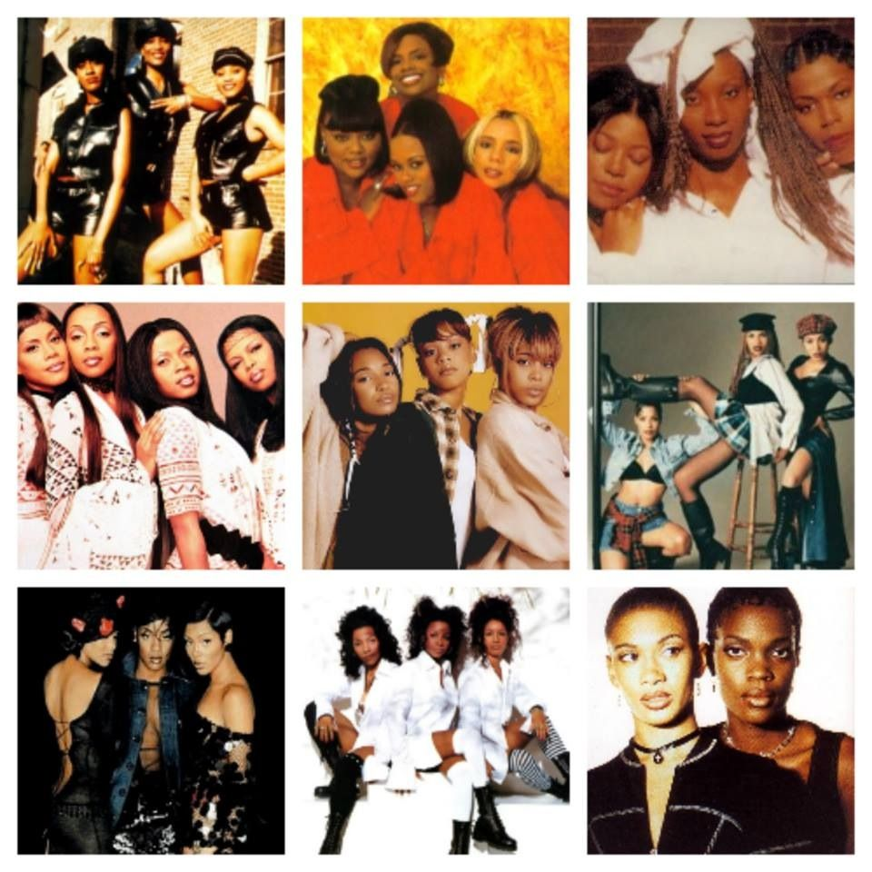 Girl Groups reigned in the 90's Soul music artists, Hip