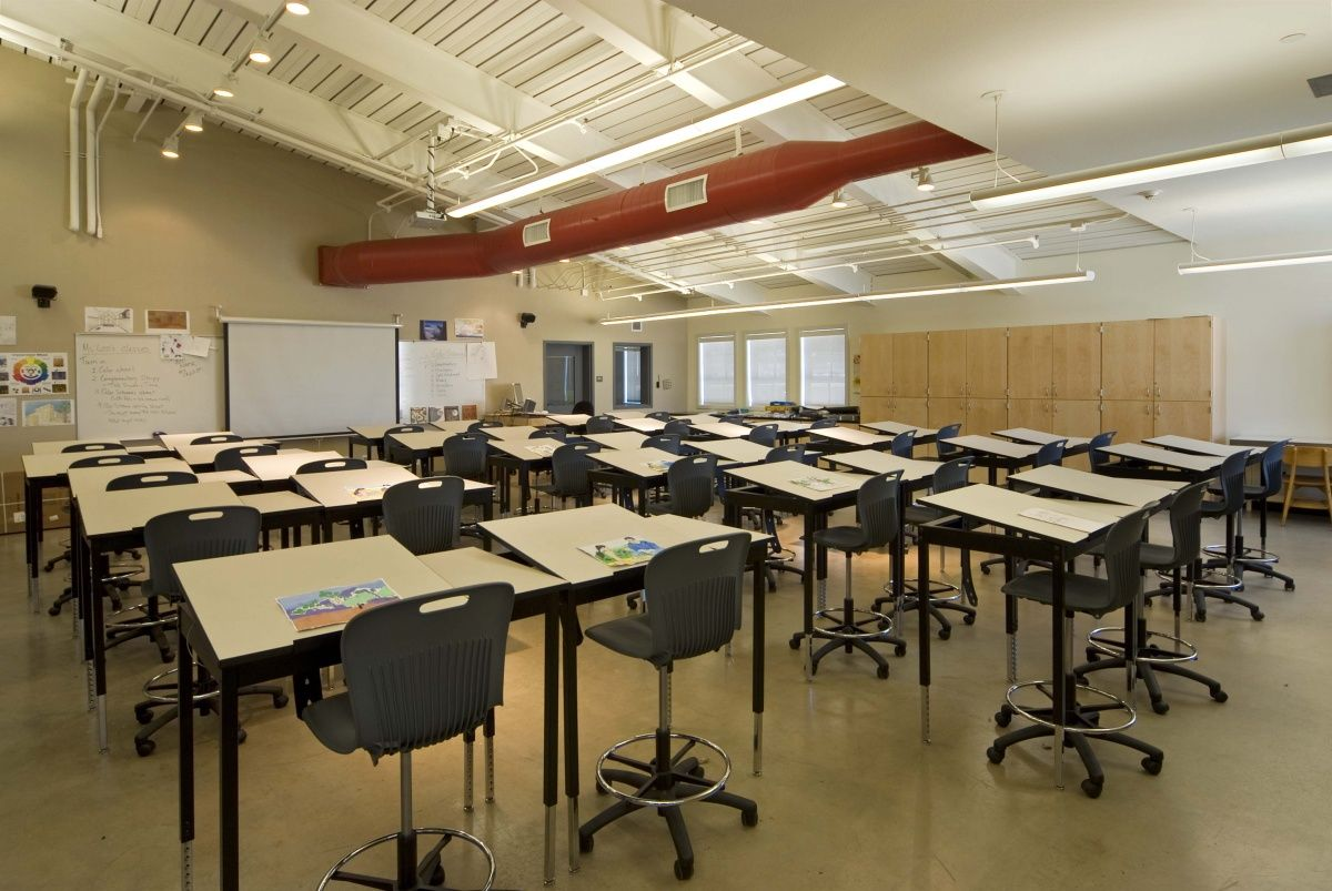 Result High School Art Rooms Classroom