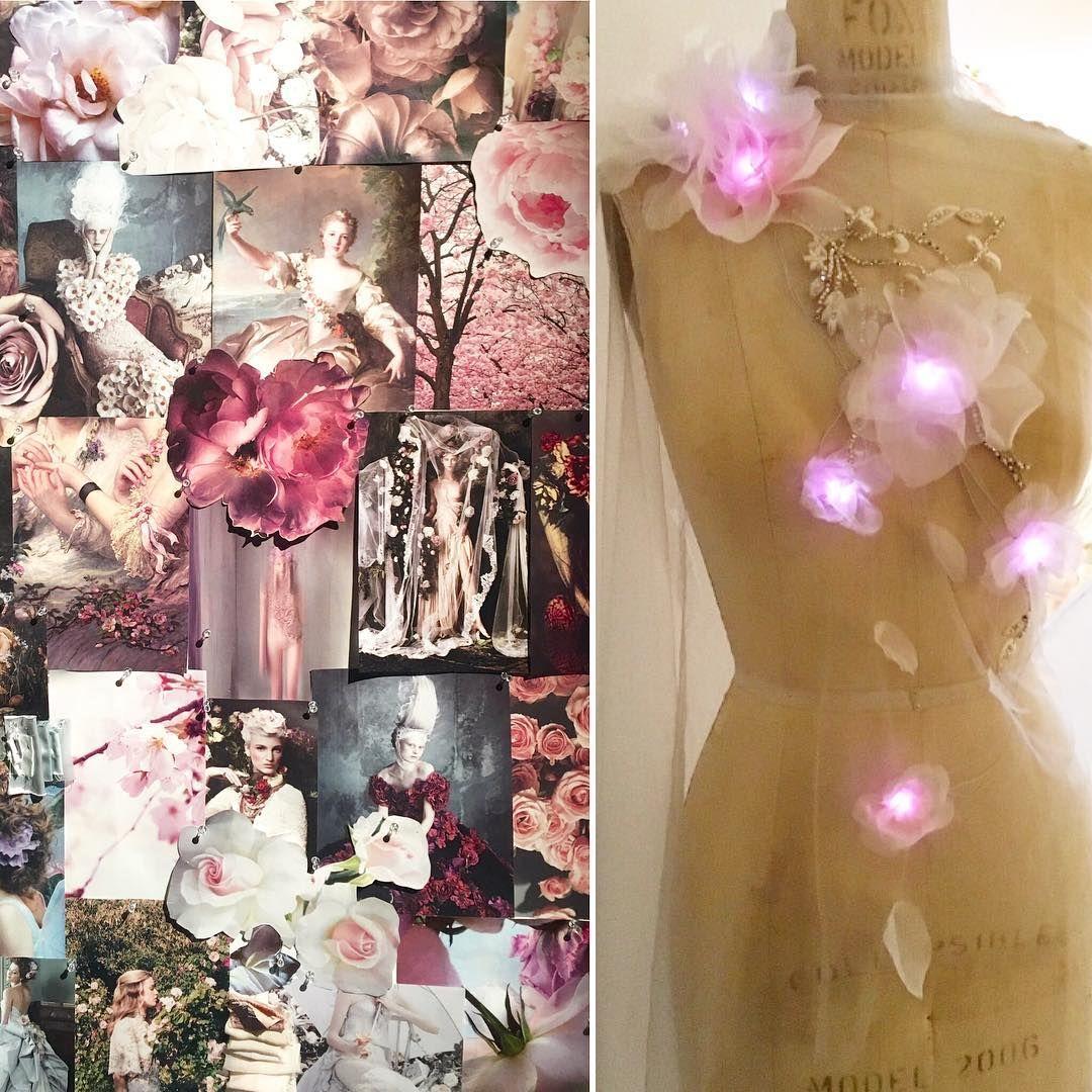 Marchesa Cognitive Dress Mood Board