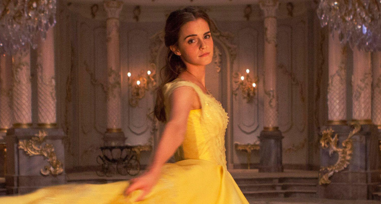 Yellow dress like belle  Hear Emma Watson Sing In uBeauty And The Beastu BeOurGuest