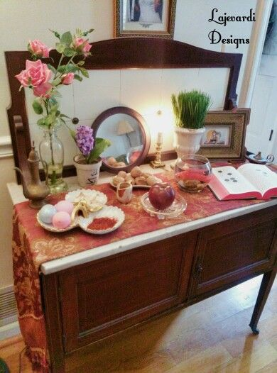 The Haft Sin Table In Our Living Room