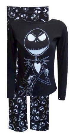 nightmare before christmas jack skellington pajama tim burton halloween pajamas christmas pajamas xmas