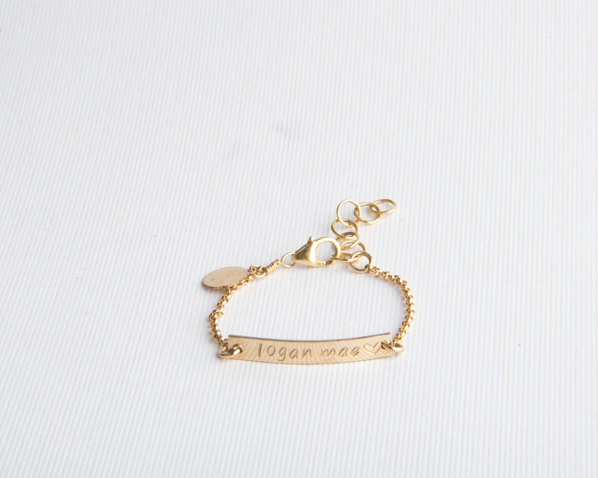 Baby Bar Bracelet