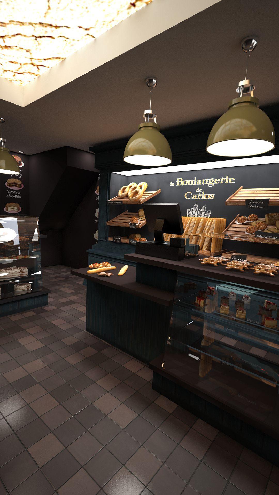 Boulangerie phase concept cr ation am nagement for Metier amenagement interieur