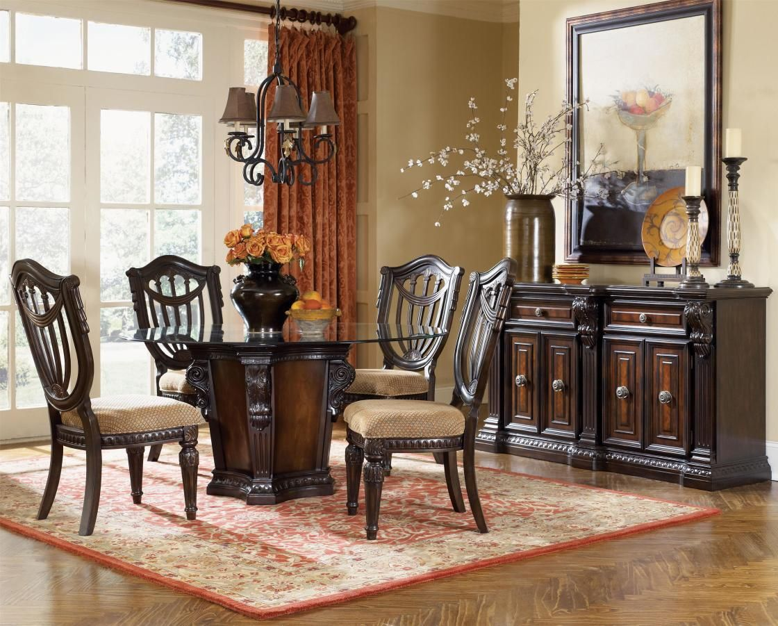 black and cherry dining room set ~ dact