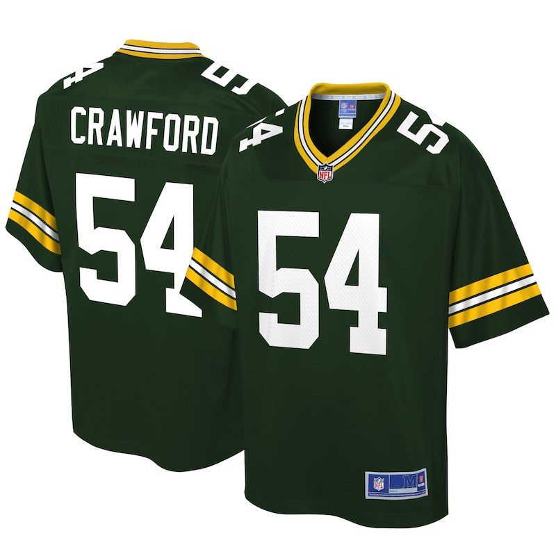 sports shoes 56e86 39e41 James Crawford Green Bay Packers NFL Pro Line Big & Tall ...