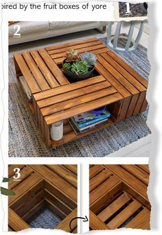 Fruit Box Coffee Table BHG Project