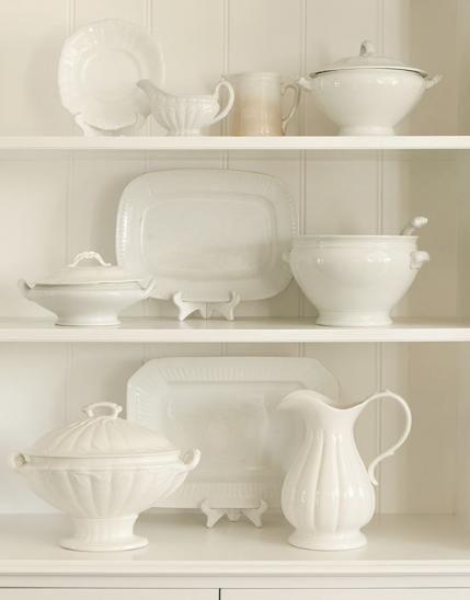 Afternoon Tea White Dinnerware
