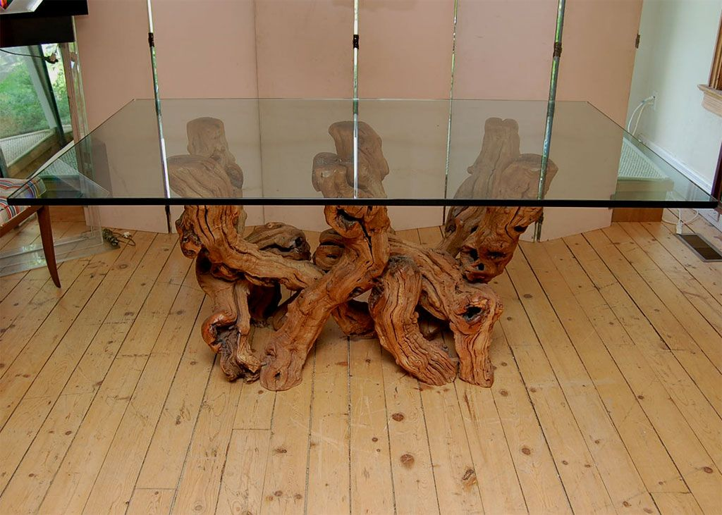 Nice Conceptual Cypress Wood Dining Table Bases For Glass Tops Wood