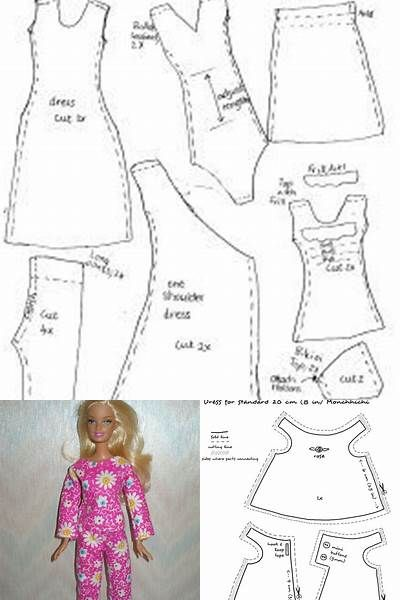 Free Printable Doll Clothes Patterns - Bing images | American Girl ...
