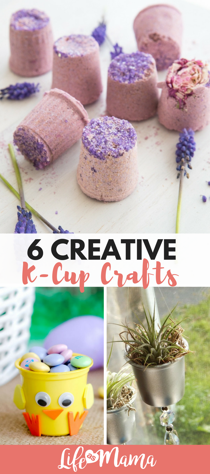 6 Creative K-Cup Crafts #recycledcrafts
