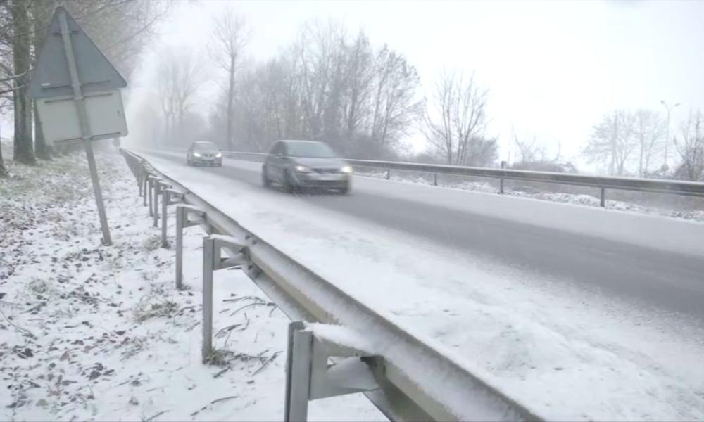 """Dix départements du nordest en alerte orange pour """"neige"""