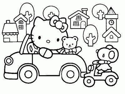 Desenhos para Colorir: Hello Kitty | hello kitty kawaii d + | Pinterest