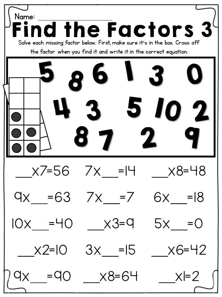 Pin On Third Grade Math
