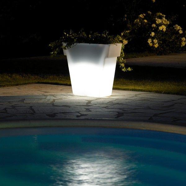 Pot lumineux jardin vaso light 55 cm lumi re jardin outdoor lights garden luminaire - Pot lumineux jardin ...