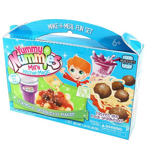 Mini Real Food Kitchen: Yummy Nummies Make-a-Meal Fun Set