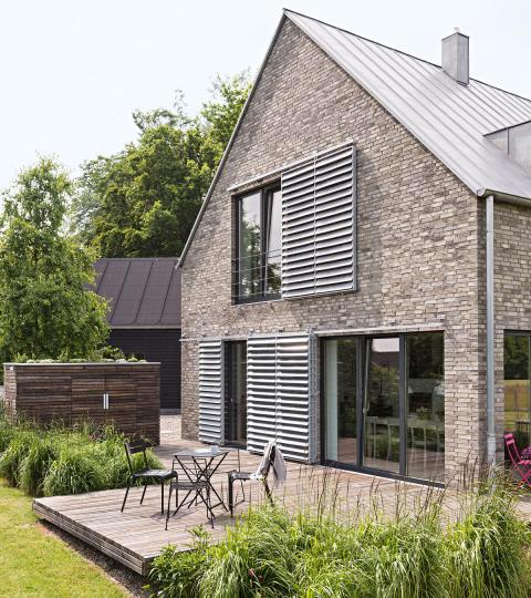 Haus Des Jahres 2015 1 Preis Schoner Wohnen Fassade Haus Architektur Haus Architektur