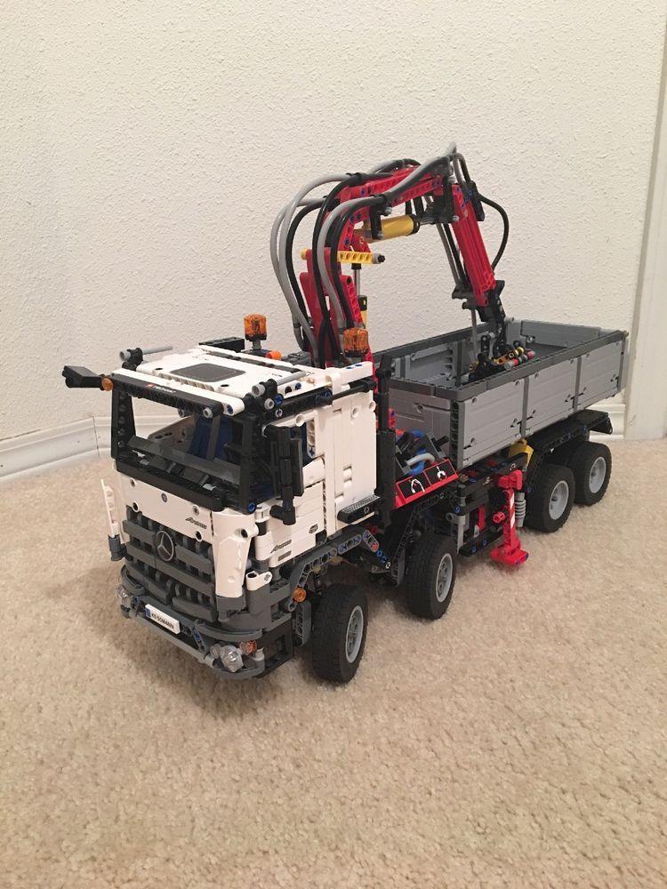 LEGO Technic Mercedes-Benz Arocs (42043) Used! Read ...