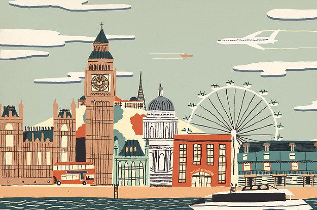 15 Hand-Drawn Illustrations Of Cities Around The World