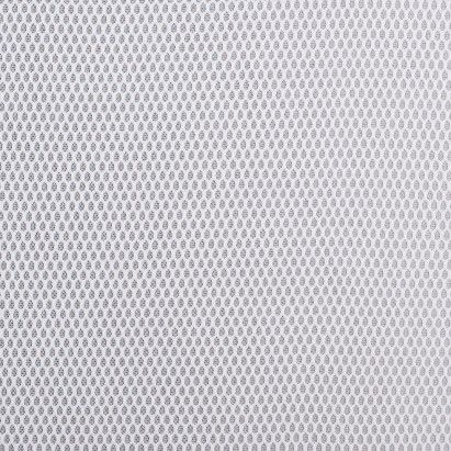 White Birdseye Pique Polyester Mesh Fabric By The Yard