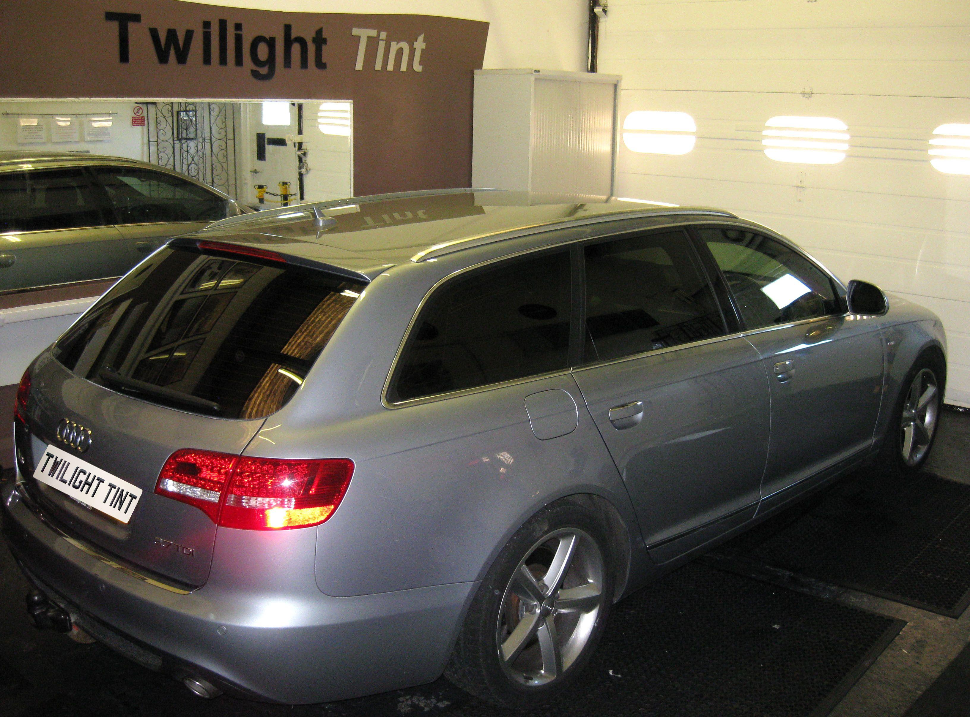 Audi a6 tinted windows car window vehicle tinting