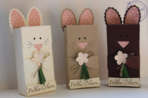 stampin 39 up frohe ostern verpackung easter box ostern pinterest frohe ostern frohe. Black Bedroom Furniture Sets. Home Design Ideas