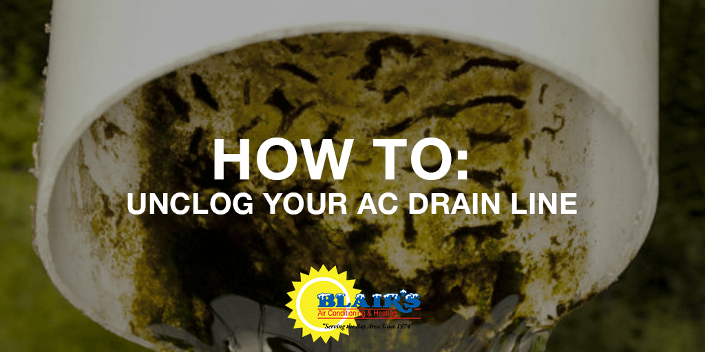 How to Unclog a Clogged AC Condensate Drain Line in 9