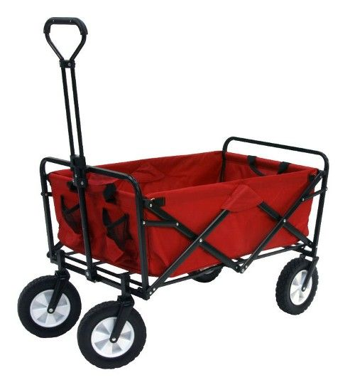Amazing Collapsible Wagon Sports Folding Utility Cart