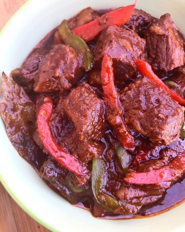 Beef Asado Recipe Beef Asado Recipe Mechado Recipe Beef Chuck Recipes