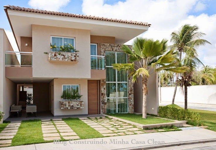 25 Fachadas de Casas com Palmeiras Veja os Tipos mais Usados