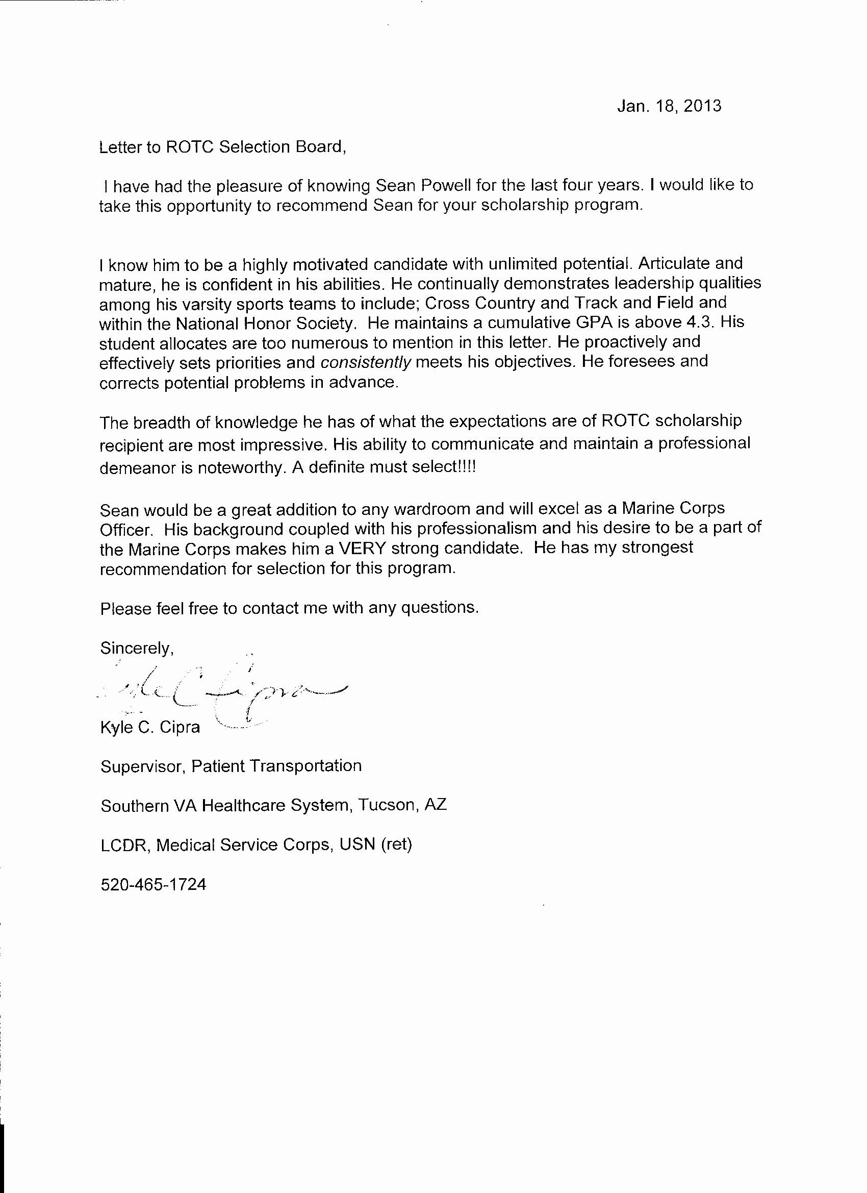 Letter Of Recommendation Military Awesome 22 Of Marine Corps Letter Template Military Letters Letter Of Recommendation Army Letters Military letter of recommendation template