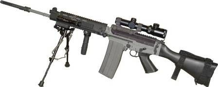 FAL Sniper | fn fal | Fal rifle, Guns, Weapons