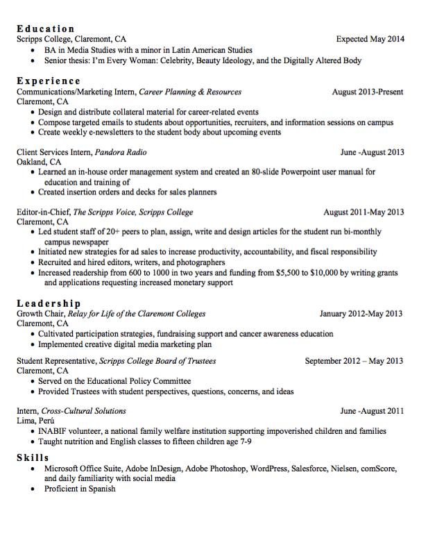 Resume Editor Sample Editor In Chief Resume  Httpexampleresumecvsample .