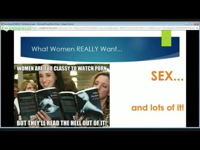 Have you always wondered why women are the way they are when it comes to sex?  Let Dr. Shelly bust the 8 female orgasm myths and enlighten you as to how you can unleash the sexual goddess in any woman, whether you're single, in a new relationship, or have been married for years.  http://orgasmicalmedicine.com/male-sexual-fitness-registration/