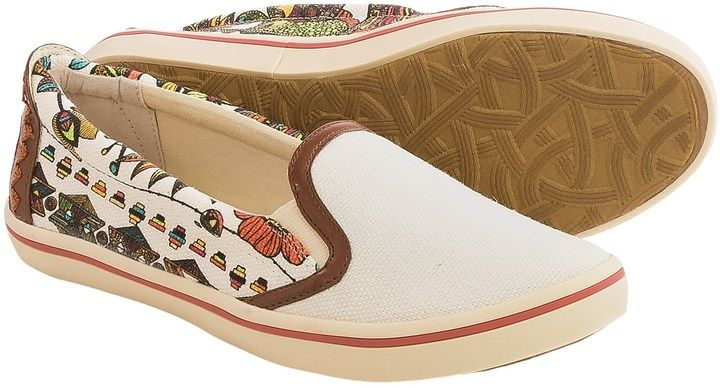 Sakroots Cadenza Canvas Shoes - Slip-Ons (For Women)