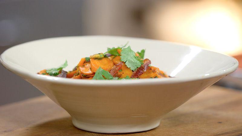 Ma recette de curry de carottes aux dattes - Laurent ...