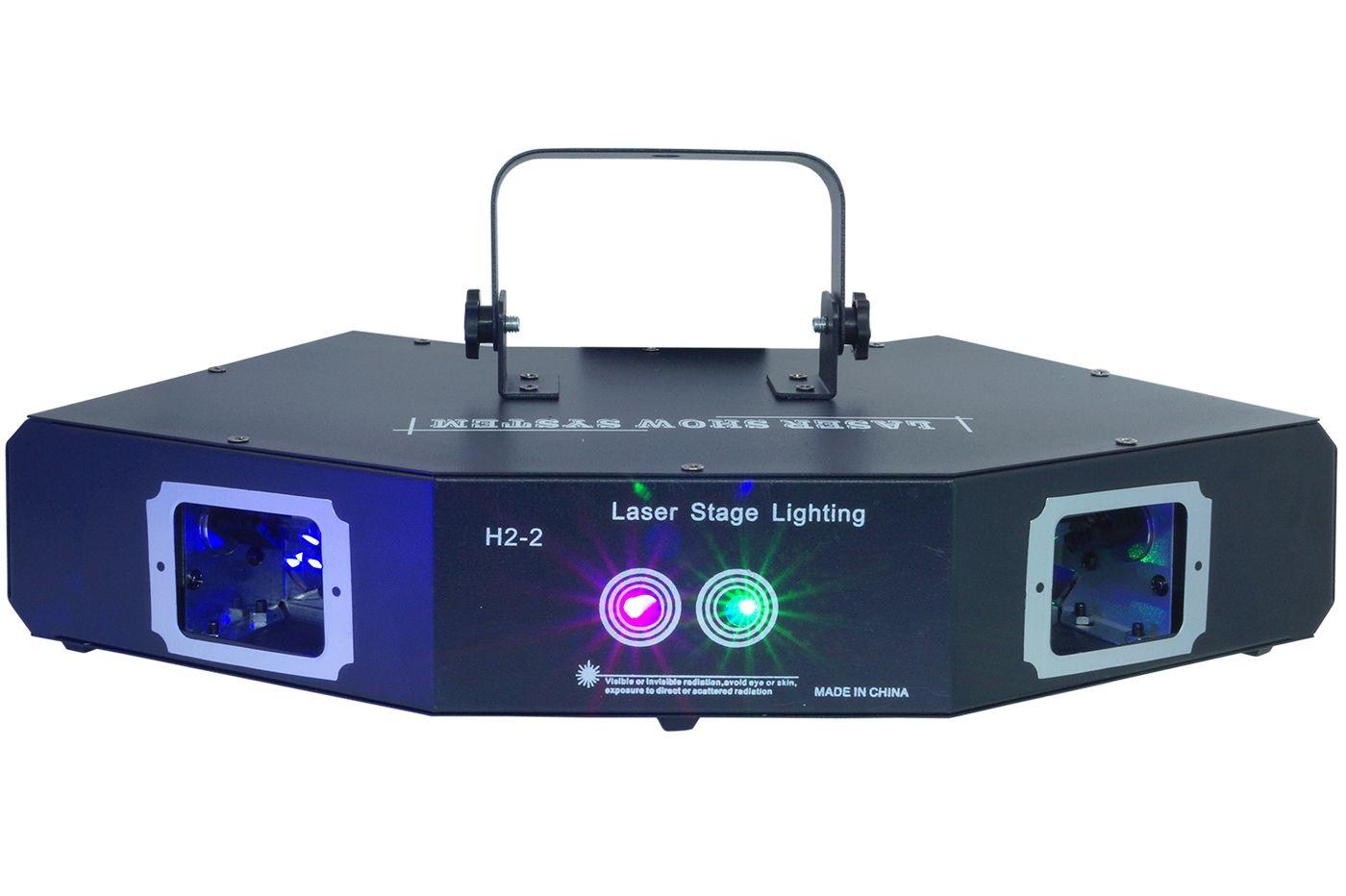 Mini Proiettore Laser Effetto Luci.Proiettore Laser 4 Vie Light Dj Club Discoteca Effetto Luce