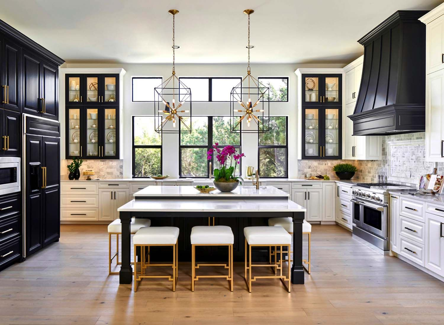 25 absolutely gorgeous transitional style kitchen ideas houses rh pinterest es