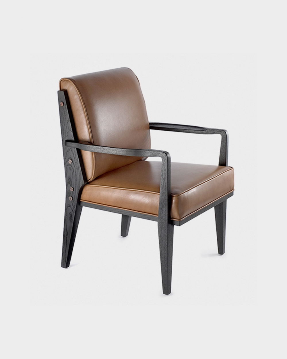 The Thierry Arm Dining Chair By Studio Van Den Akker