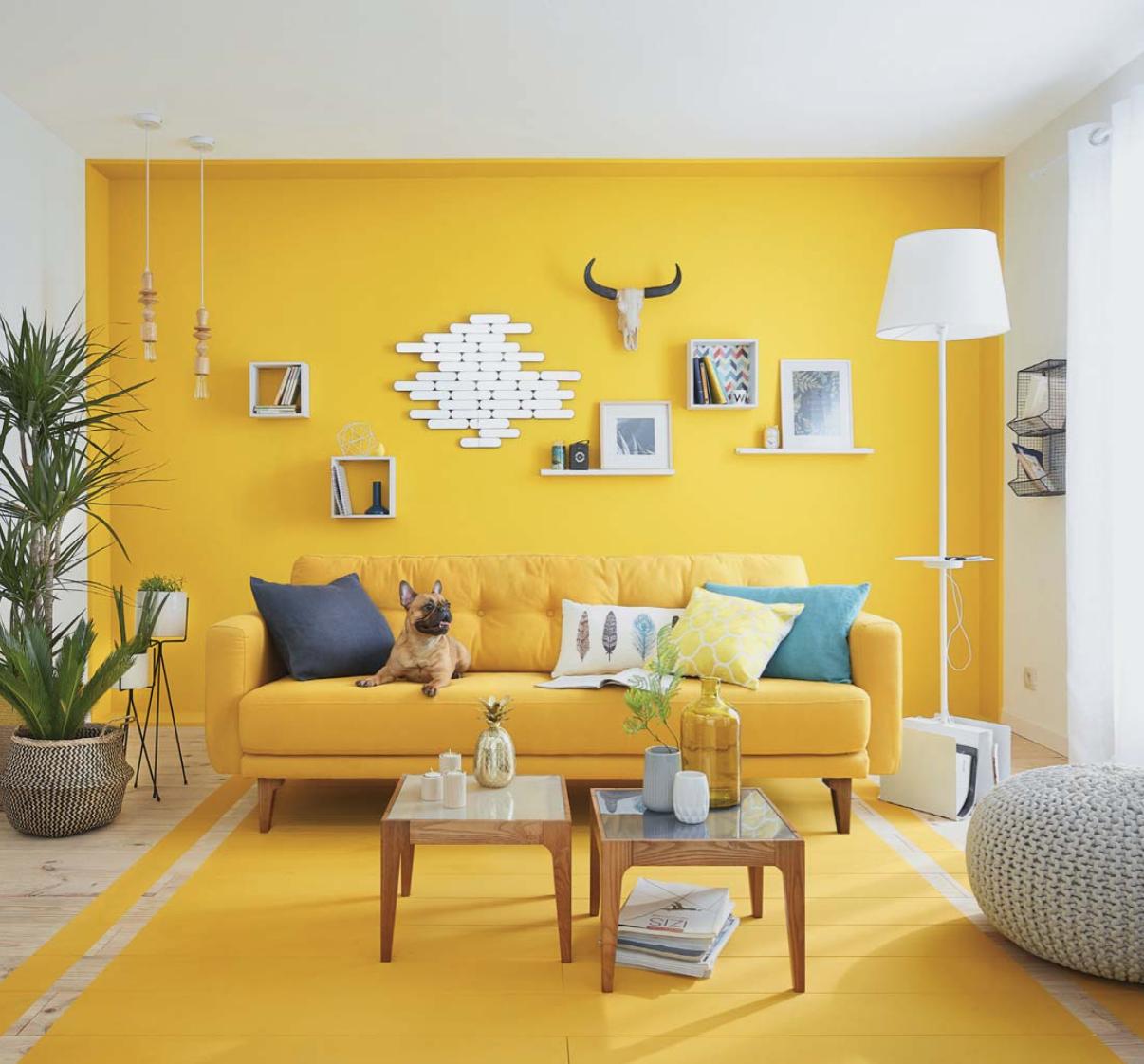 Salon Jaune Salon Jaune Room Wall Painting Yellow Walls
