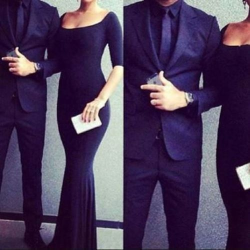 Would love to wear this out on a nice date ufe0f black dress black suit date night outfit dress ...