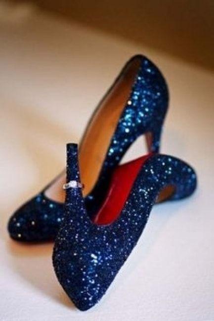New Femme Stiletto haut talon paillettes Cour Chaussures Taille 3 4 5 6 7 8