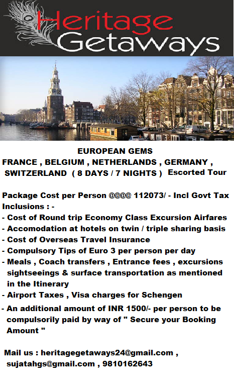 Pin by Heritage Getaways on HOLIDAY PACKAGES (With images ...