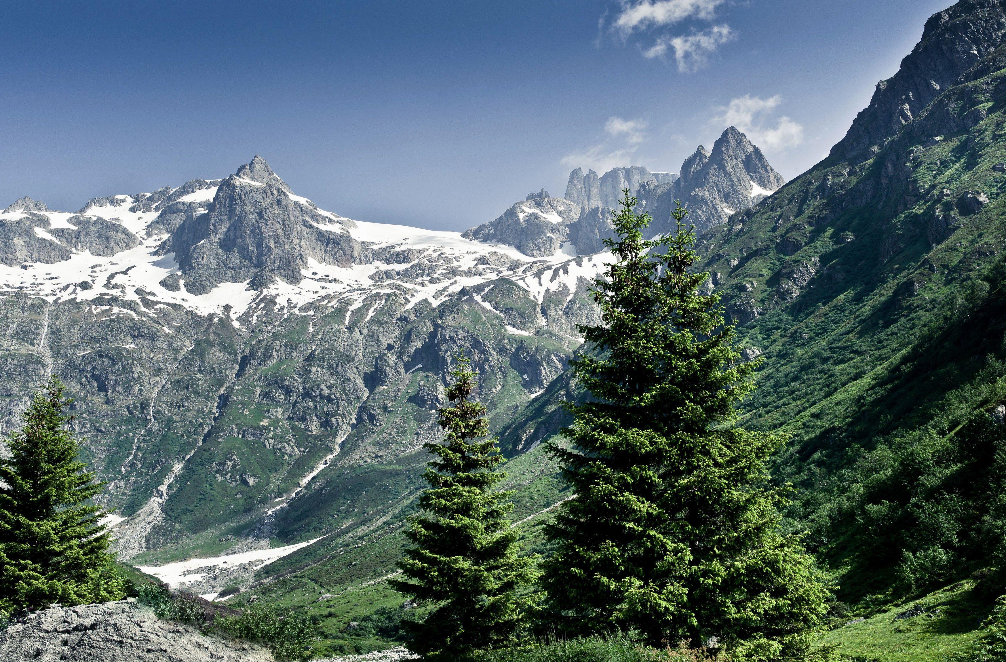 Terranatura Montagne Paesaggi Scenic Foresta Cielo Cloud Natura