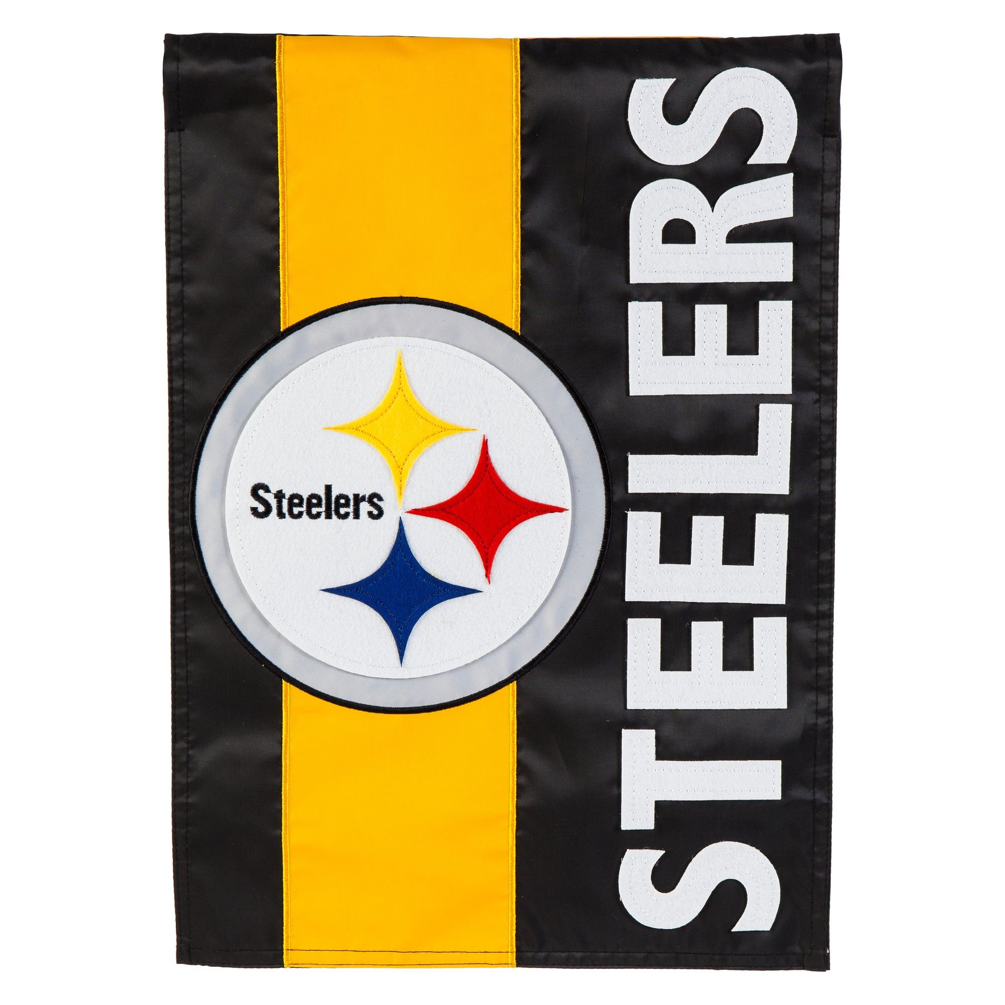 Pittsburgh Steelers Embellished House Flag Steelers flag