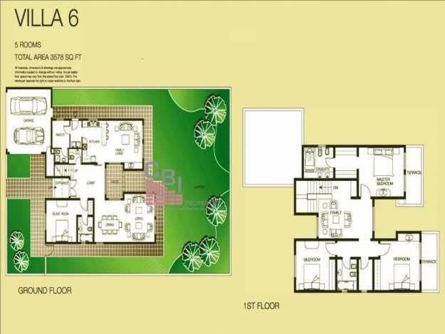The Lakes Villa Floor Plans The Lakes Dubai UAE – Dubai House Floor Plans